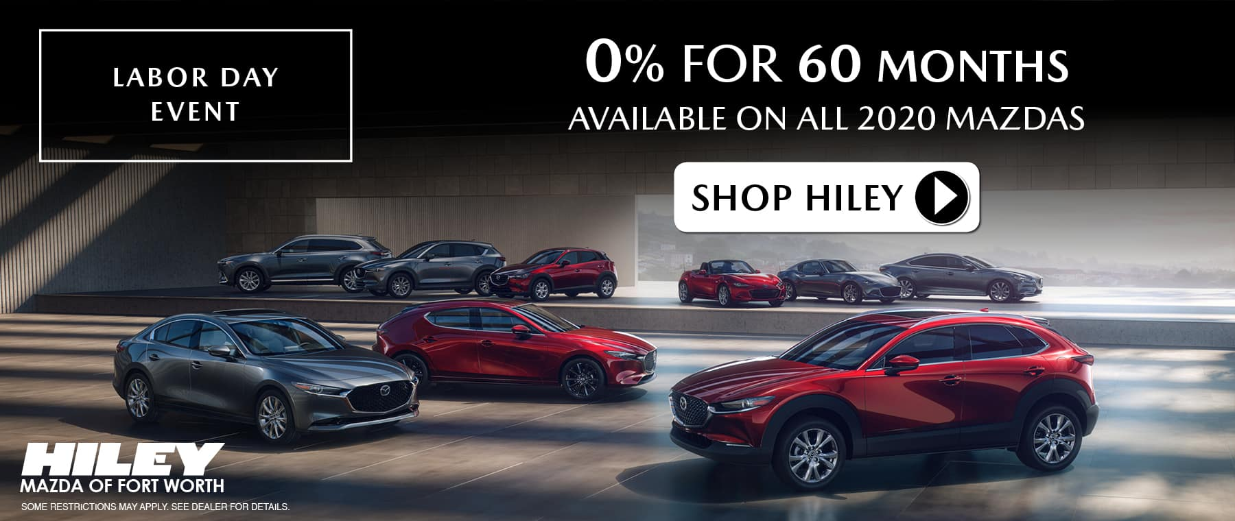 New Mazdas and Used Cars in Fort Worth | Hiley Mazda of Fort Worth