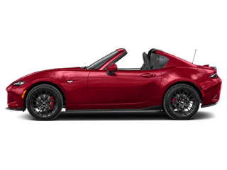 red mx5 miata rf