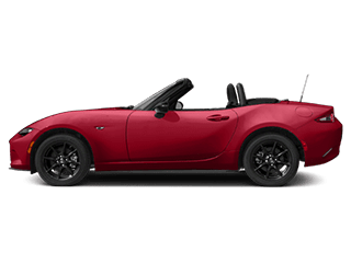 red mazda mx5 miata