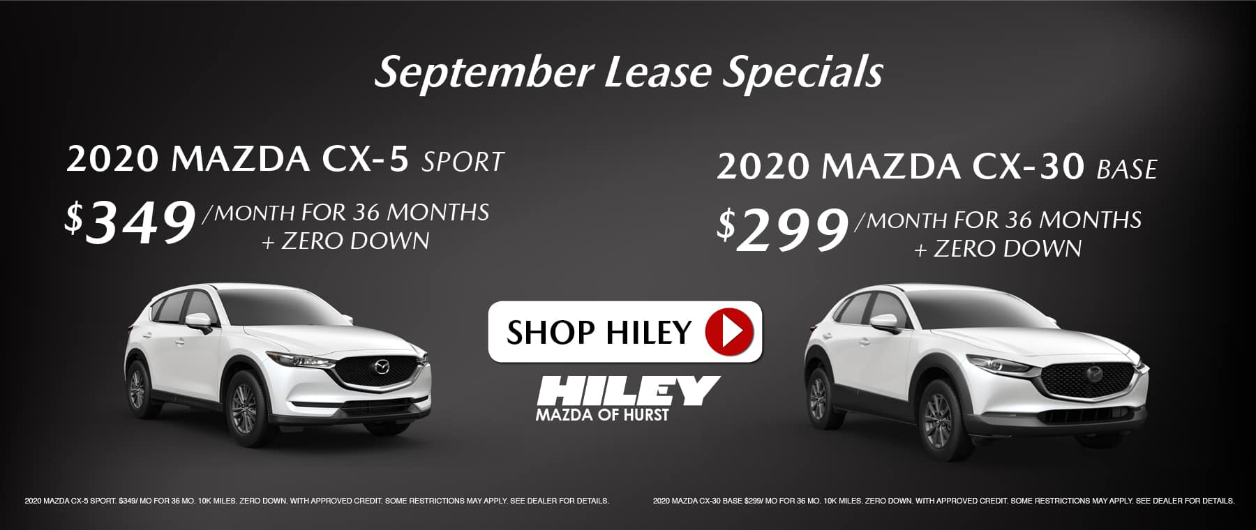SEP – lease specials
