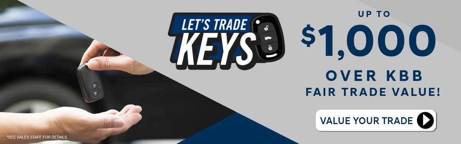 vw trade keys