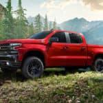 2020 Chevy Silverado in forest CANADA