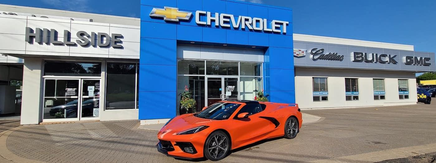 Hillside Chevrolet Dealership Exterior