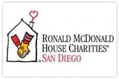 Ronald McDonald House Charity San Diego logo
