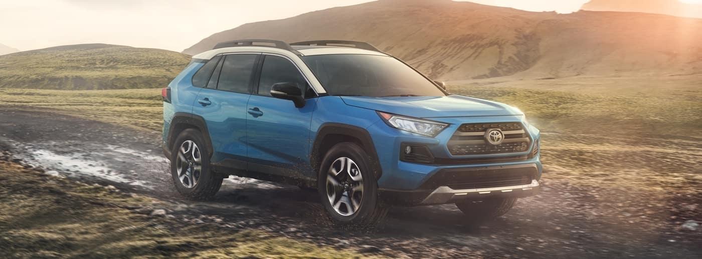 Toyota Rav4 Blue