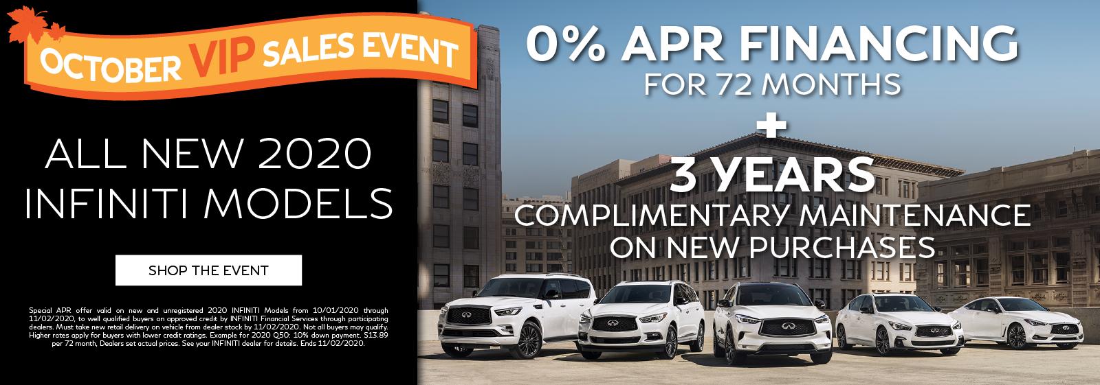 October VIP Sales Event - Click to shop new vehicles.