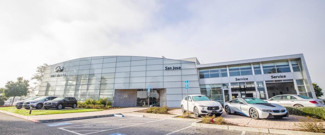 INFINITI of San Jose exterior dealership photo