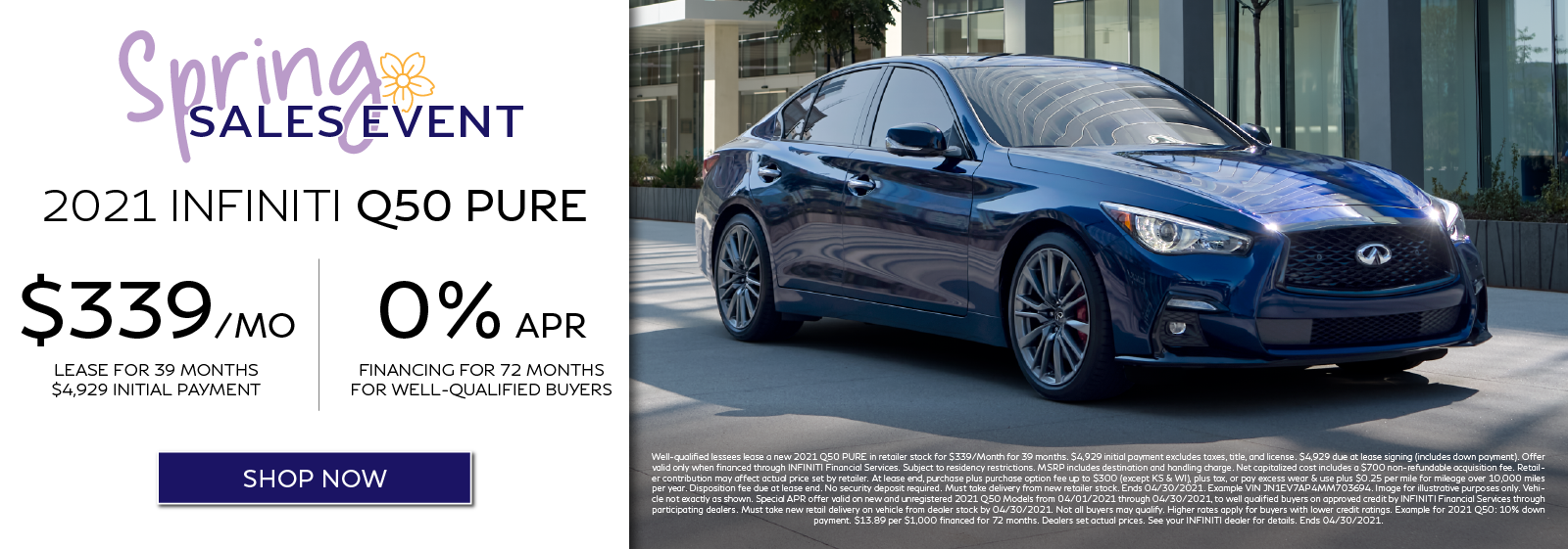 2021 Q50 Lease and APR Offers. Click to shop now.