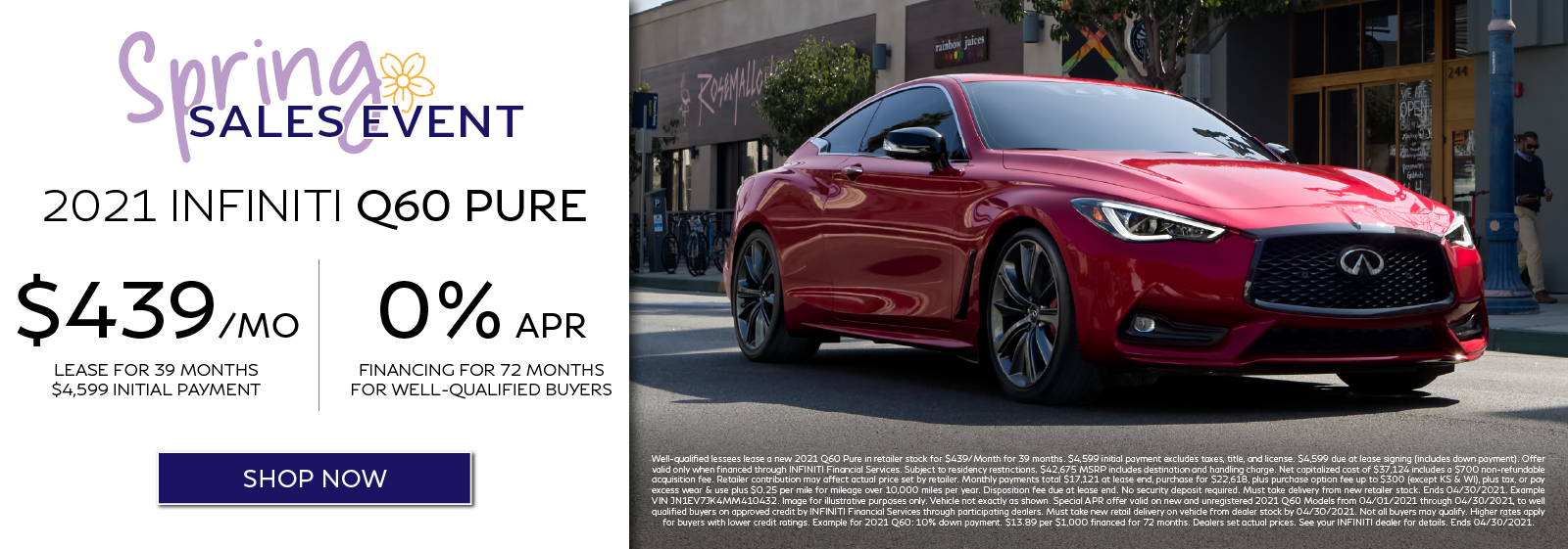 2021 Q60 Lease and APR Offers. Click to shop now.