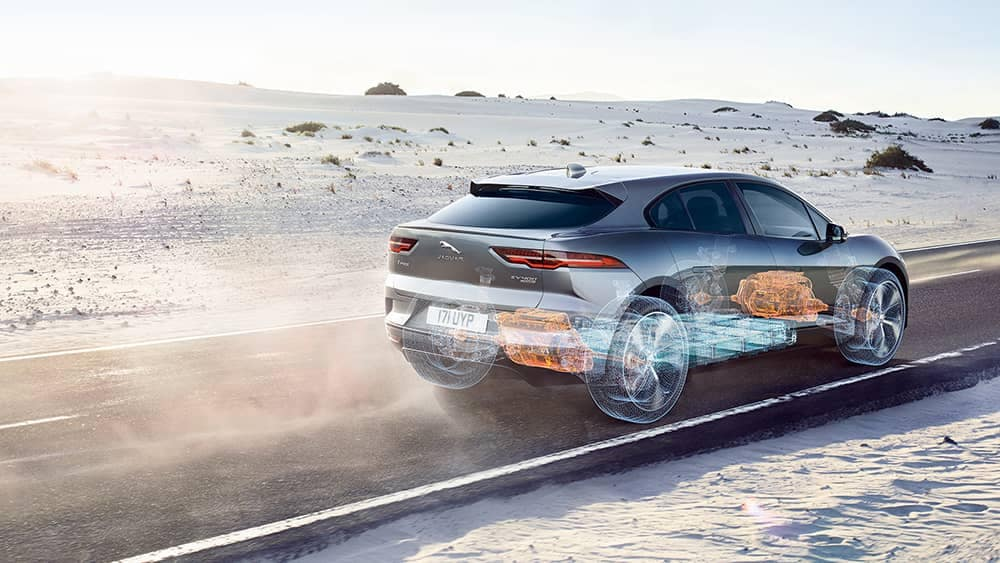 2019 Jaguar I-Pace See Through