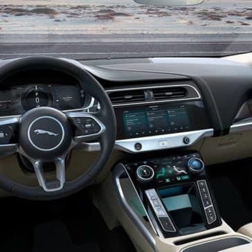 2019 Jaguar I-Pace Dash