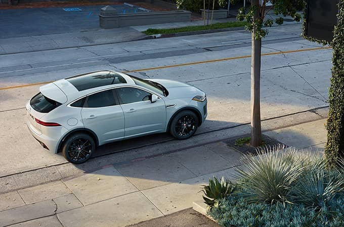 2020 Jaguar E-Pace Parked