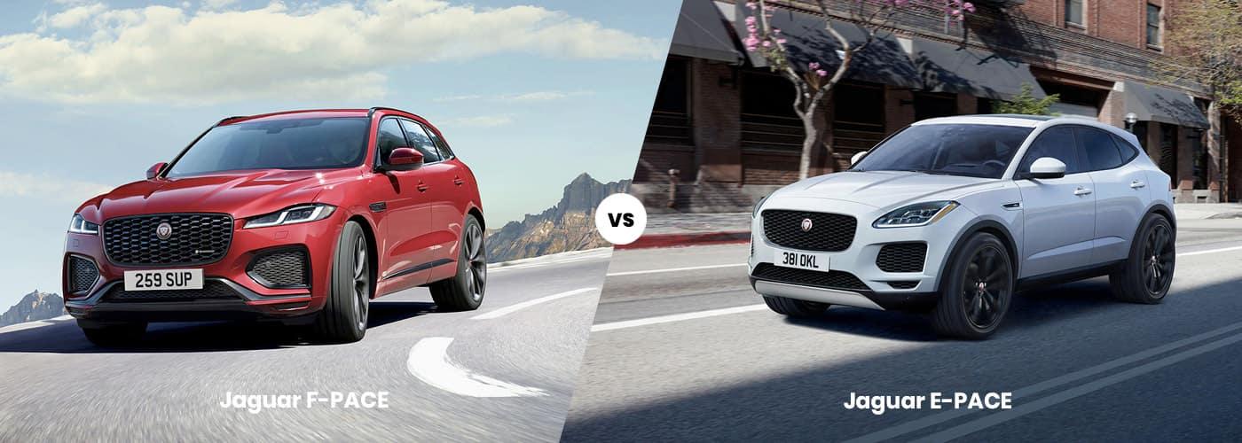 Jaguar F-PACE vs. Jaguar E-PACE