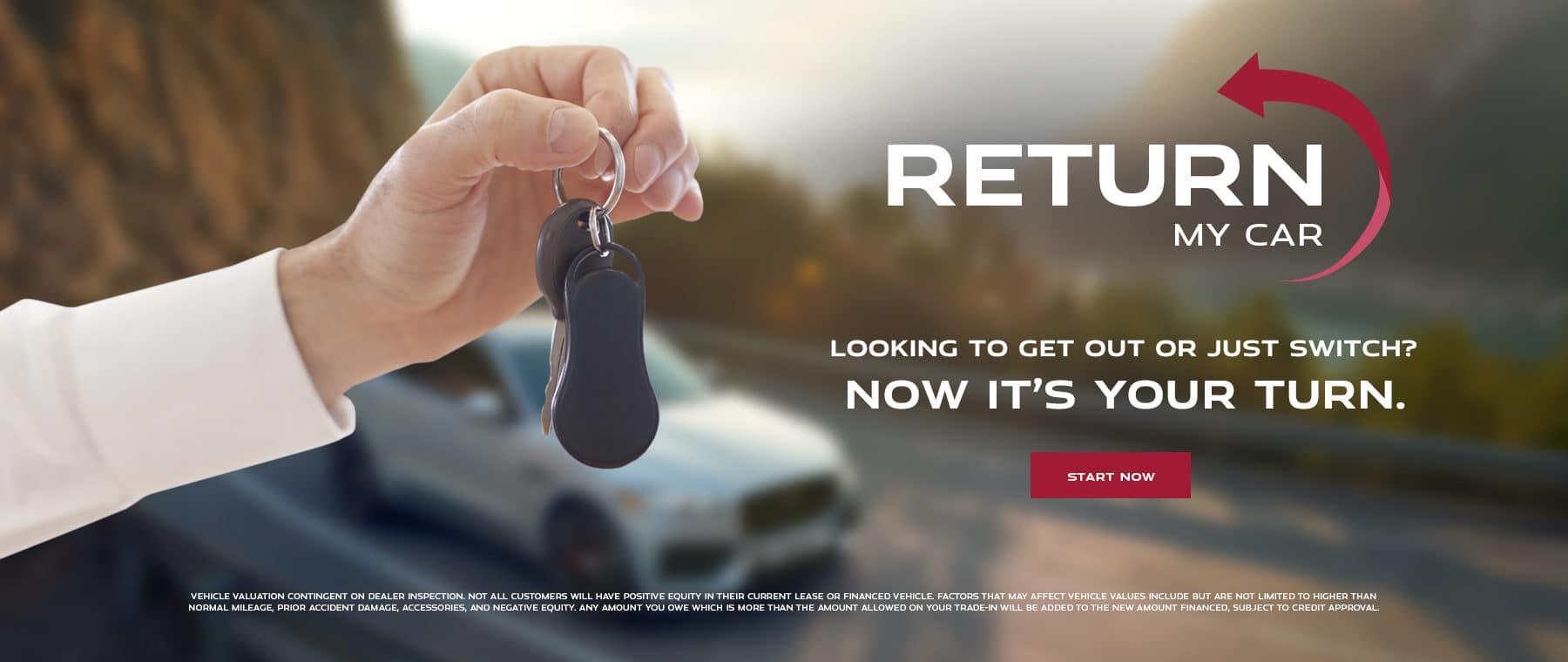 Return my car JA