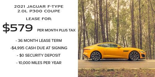 2021 Jaguar F-TYPE 2.0L P300 Coupe