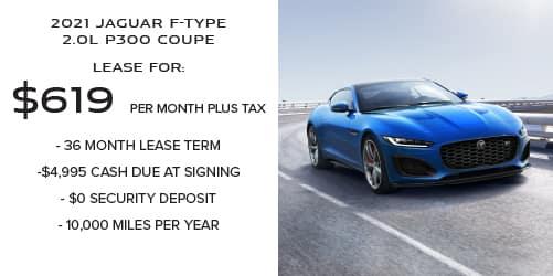 New 2021 Jaguar F-TYPE 2.0L P300 Coupe