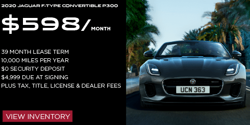 New 2020 Jaguar F-TYPE P300 RWD 2D Convertible