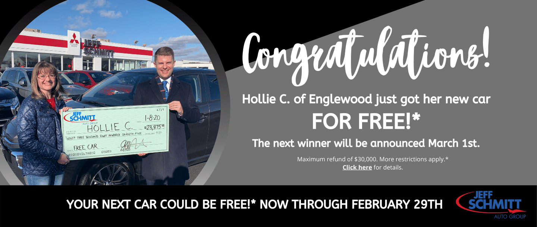 New car free