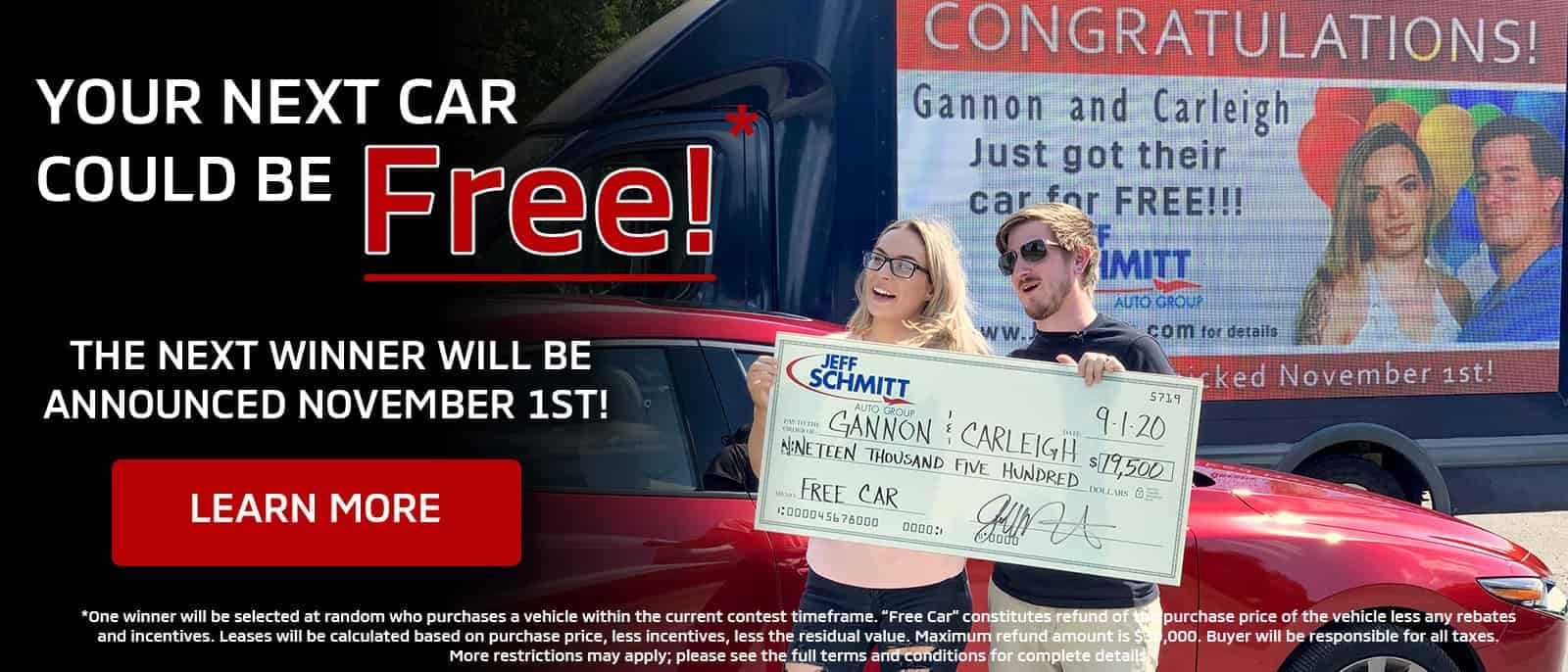 Your Next Car Could Be Free!