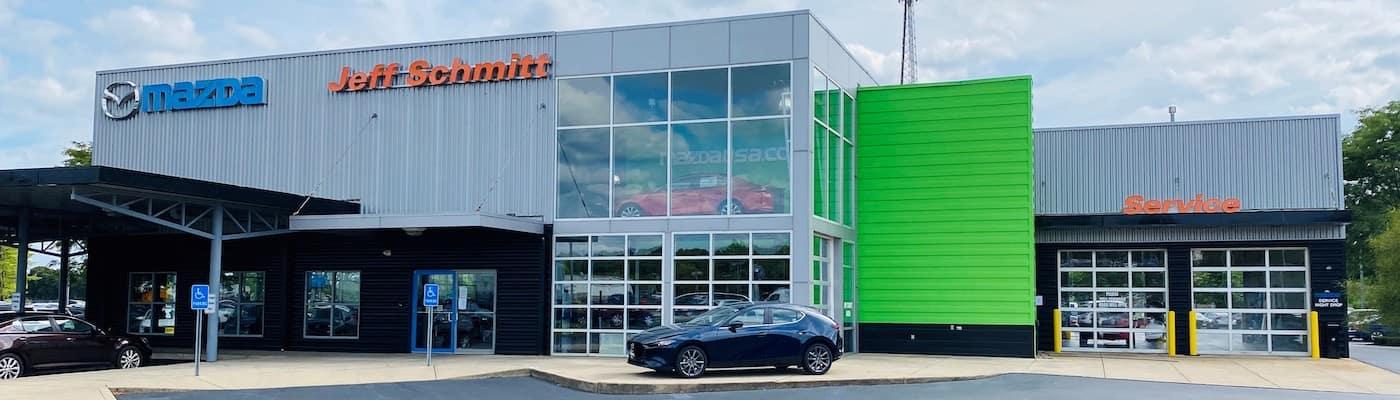 Jeff Schmitt Mazda located near Dayton OH.