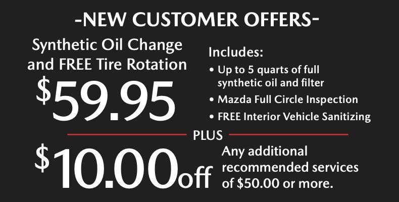 Mazda Dealer Specials