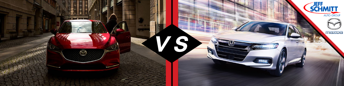 2021 Mazda6 vs Honda Accord Dayton