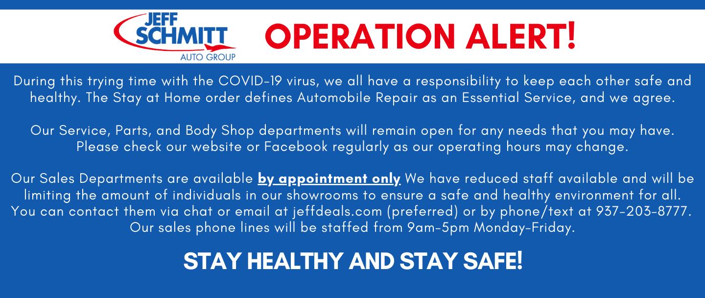Operations Alert