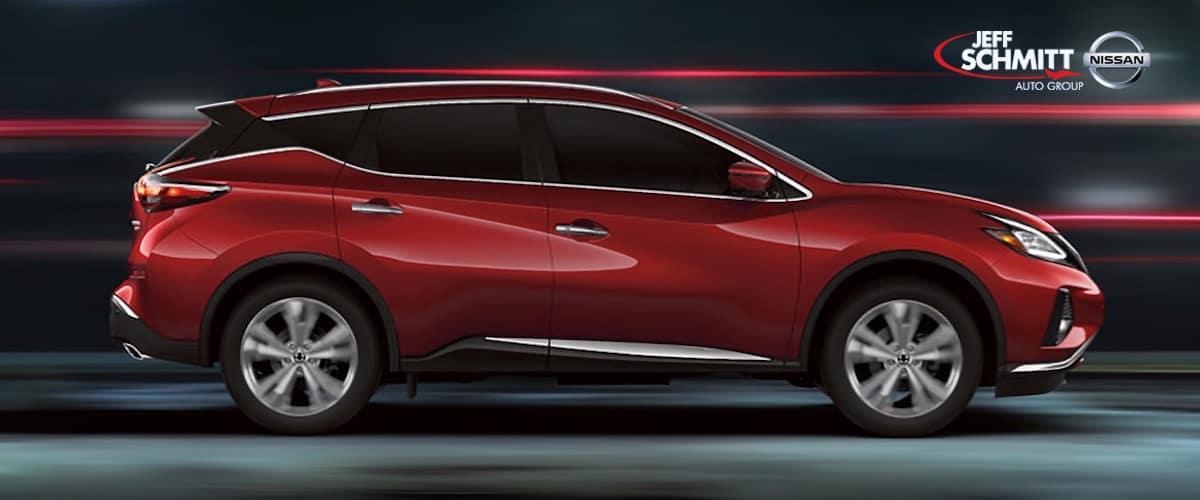 Nissan Murano vs Toyota Highlander Dayton