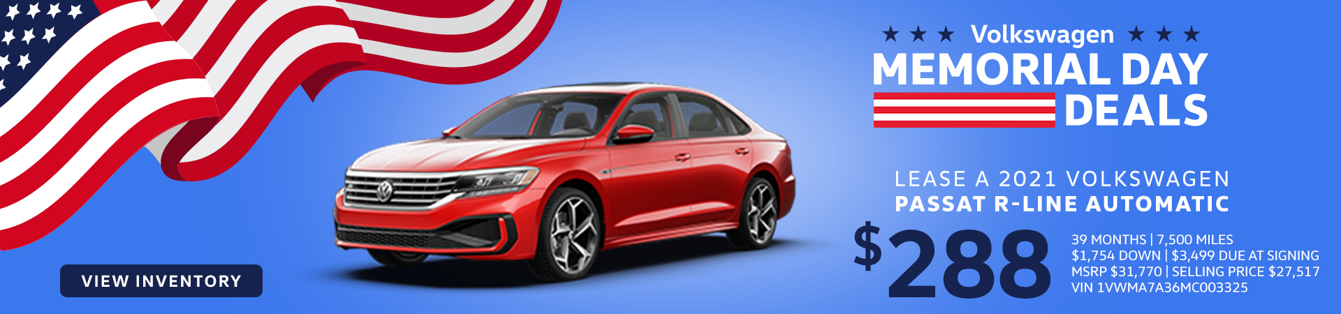 Wynn VW_May Offer_Passat