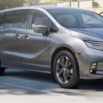 Gray 2021 Honda Odyssey