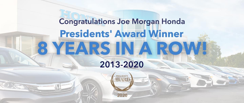 Presidents' Award Winner