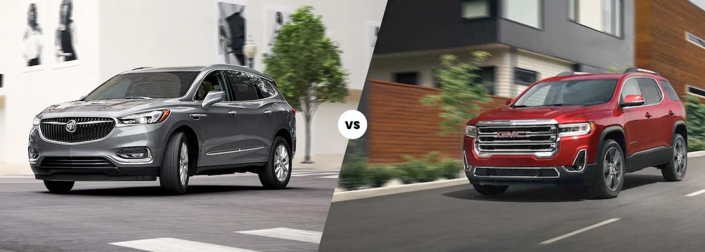 Buick Enclave vs. GMC Acadia