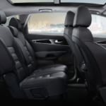 3 rows of seats inside 2020 Kia Sorento