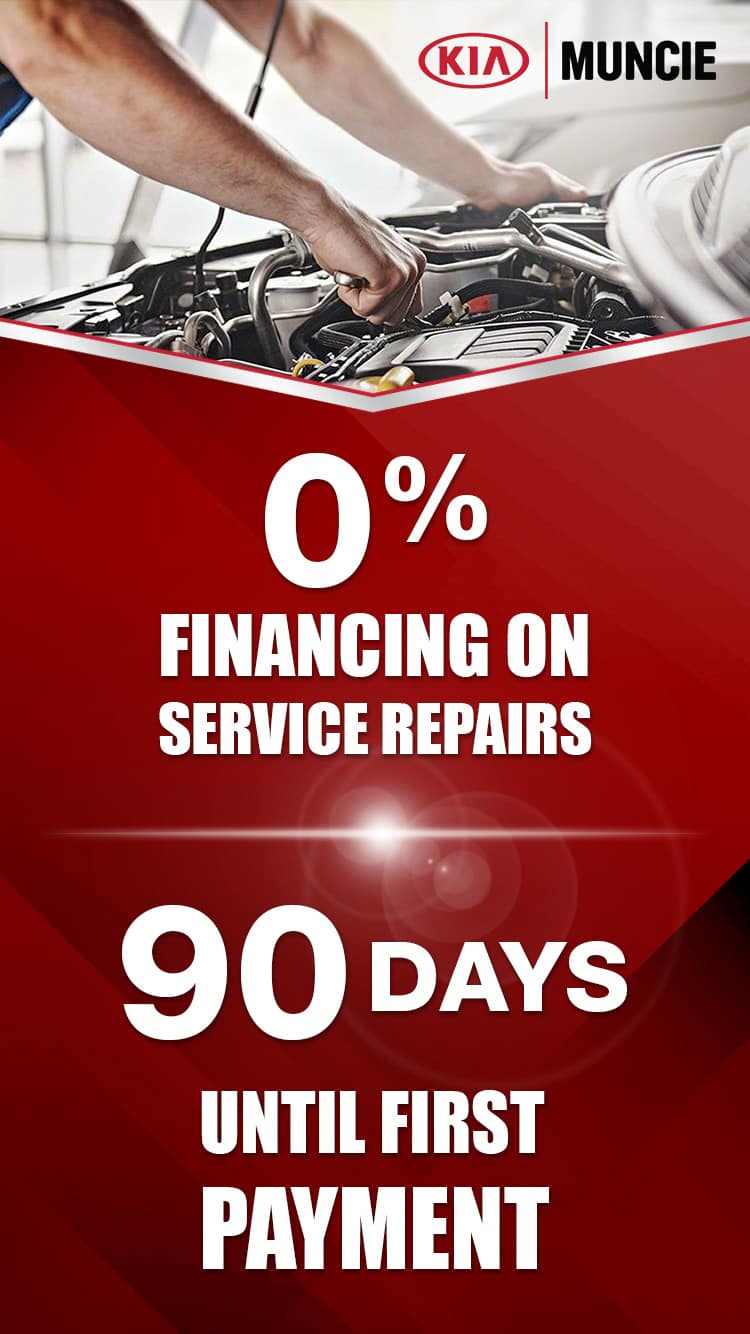 O% Financing for Service Repairs - No Payments for 90 Days