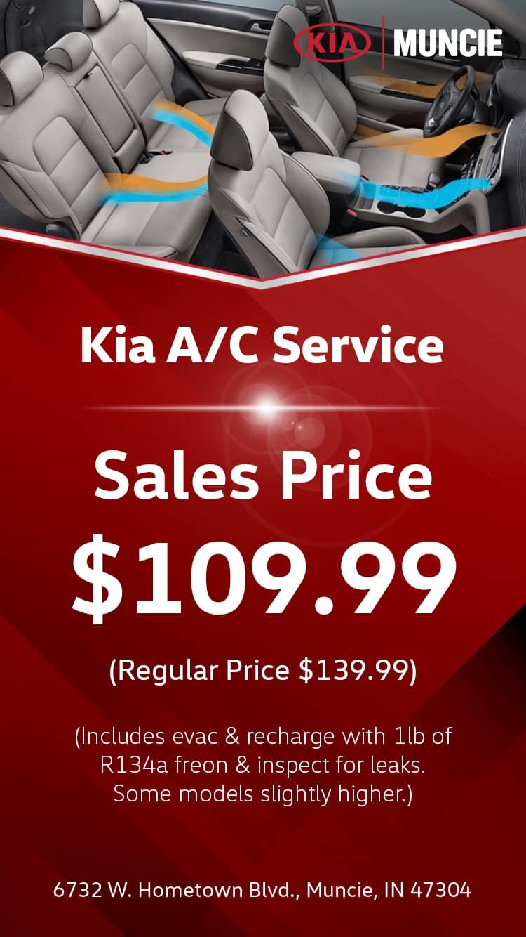 Kia A/C Service