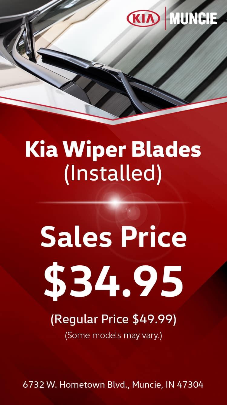 Kia Wiper Blades Replacement