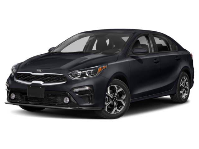 Navy blue 2020 Kia Forte