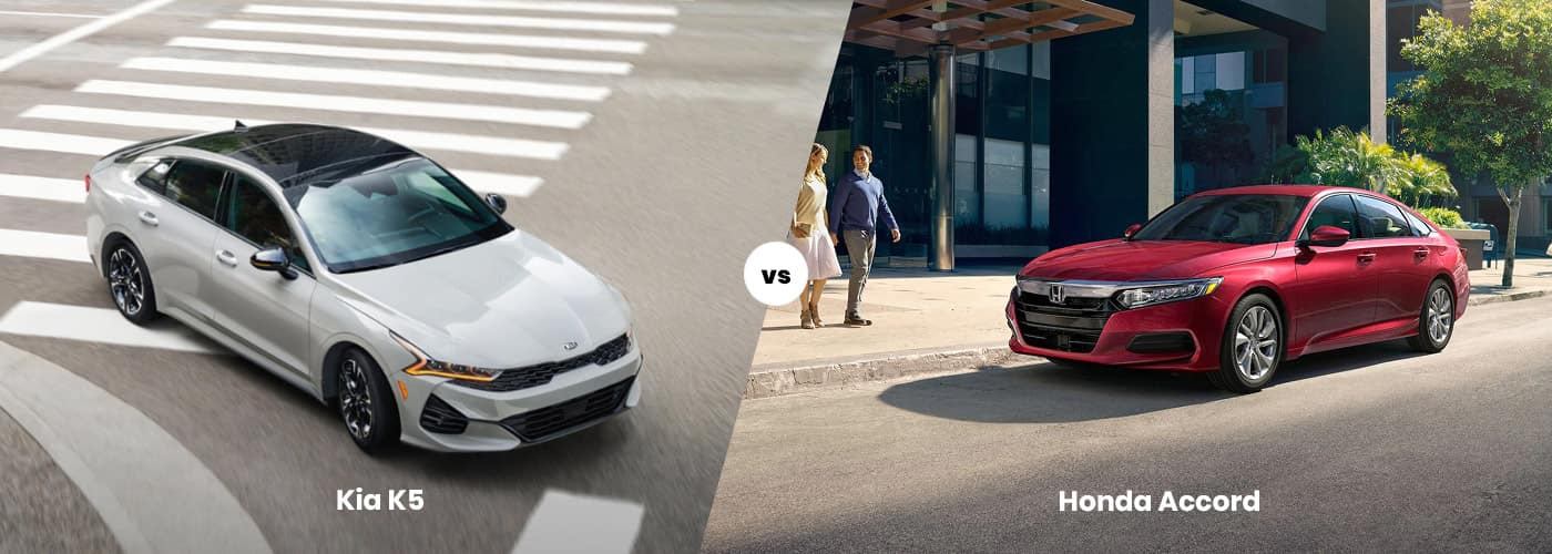 Kia K5 vs. Honda Accord
