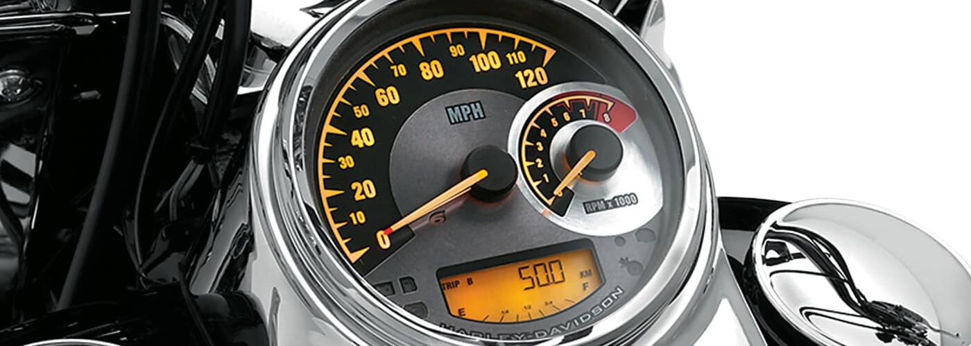 Harley-Davidson Digital-Analog Gauge