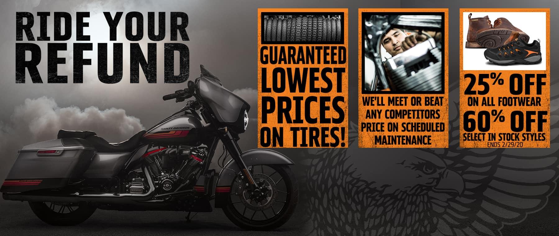 Ride Your Refund
