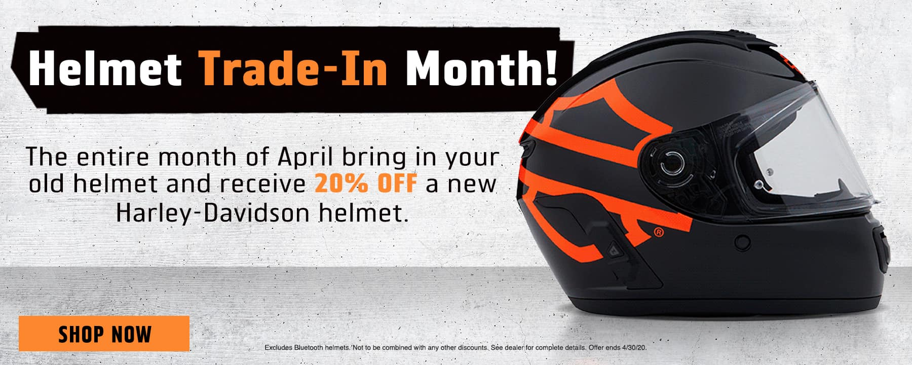 Helmet Trade-In Month!