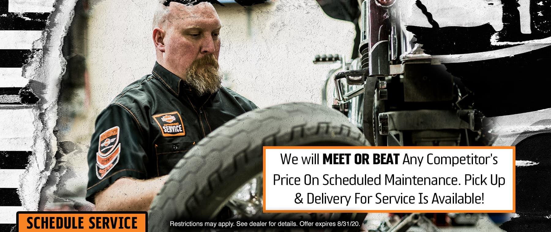 Meet or Beat Any Competitor's Price on Scheduled Maintenance!