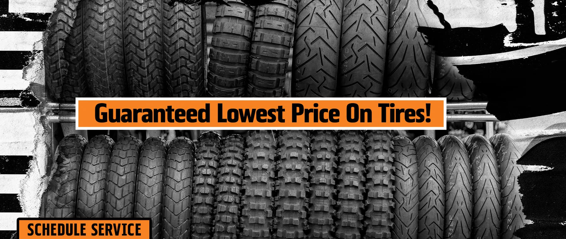 Guaranteed Lowest Price on Tires!