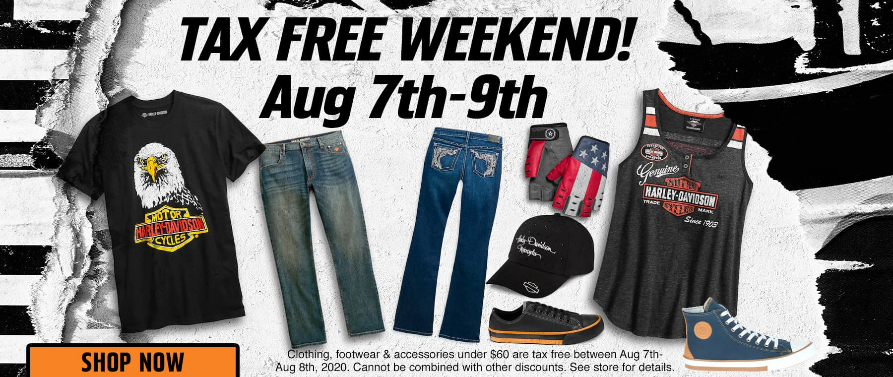 Tax FREE Weekend!