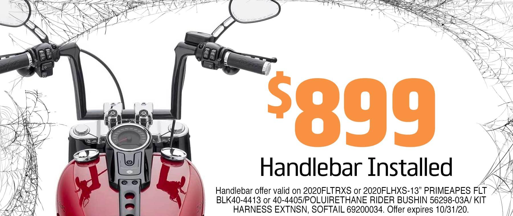 Handlebar Installation at Lakeland Harley-Davidson