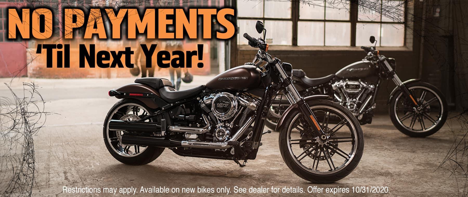 No Payments Until Next Year at Lakeland Harley-Davidson