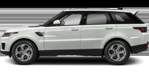 white range rover sport