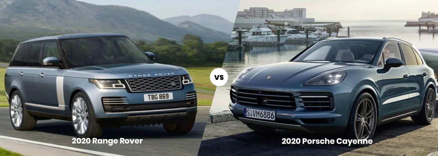 Range Rover vs. Porsche Cayenne