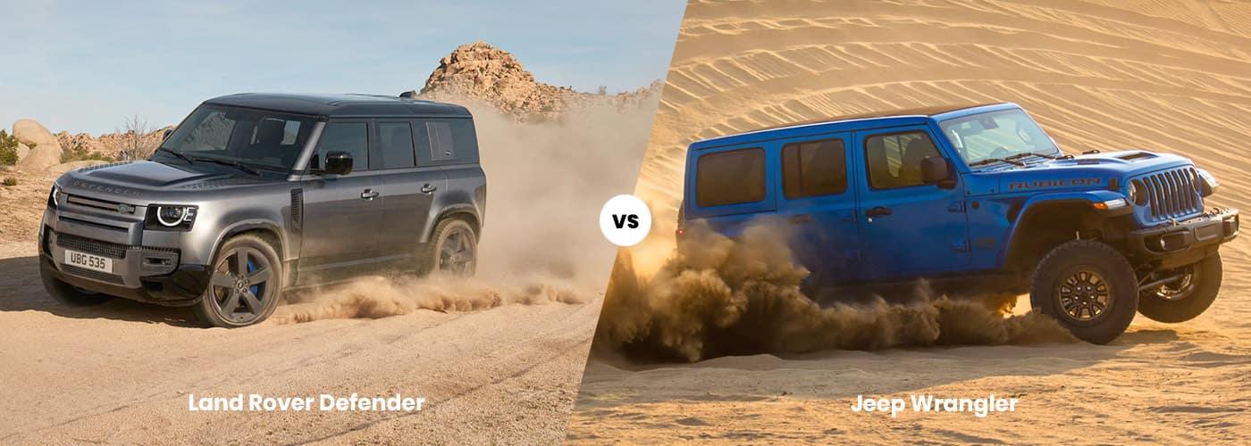 Land Rover Defender vs. Jeep Wrangler