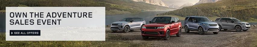 2020 land rover own the adventure sales event click to view offers